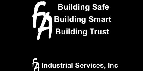 FA Industrial Services, Inc. FA Industrial Services, professional craftsmen, expertise in general commercial construction, mining, millwright services, civil construction, excavation, pulp/paper, general industrial markets, scaffold, scaffolding, crane re